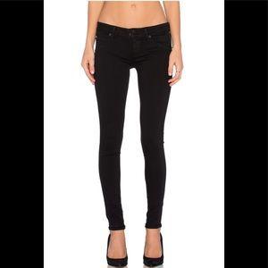 Hudson Jeans Collin Skinny en Black